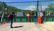 Akkuyu Nükleer Santrali'nde İlk Temele Protesto