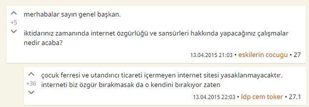 3. İnternet sansürü