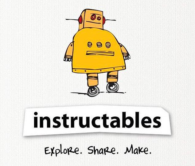 13. Instuctables