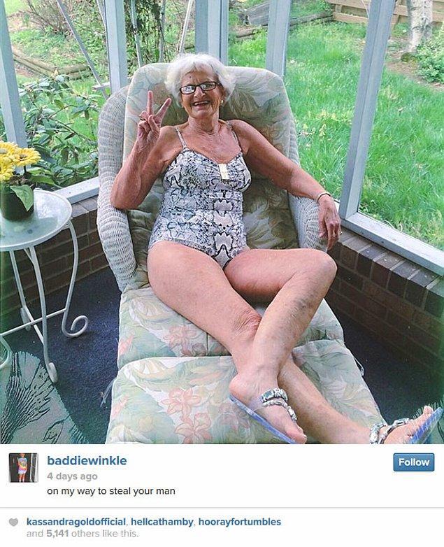 """Gençlere taş çıkaran tarzıyla hemen hemen her gün Instagram ve Twitter'dan paylaşım yapan """"Baddie""""nin, sosyal medyada yüzbinlerce takipçisi var."""