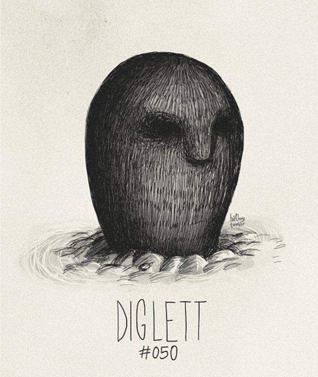 50. Diglett