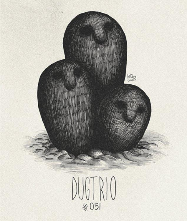 51. Dugtrio