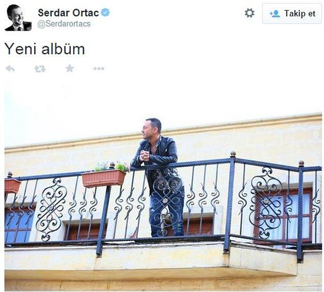 1. Artık klasikleşen yeni Serdar Ortaç albümünün çıkması