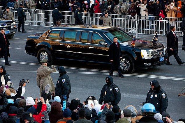 6. Obama'nın şoförü