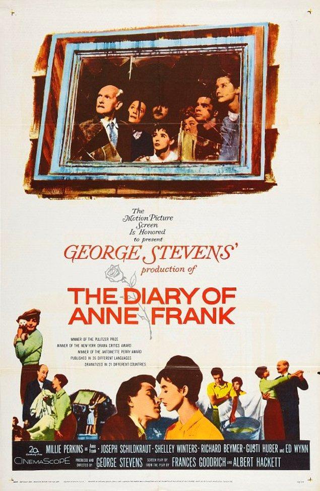 2. The Diary of Anne Frank - Anne Frank'in Hatıra Defteri (1959)