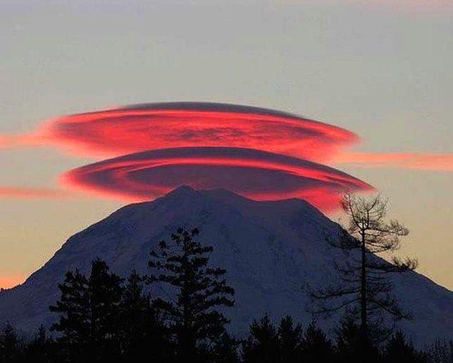 2. Lenticular (Mercek) Bulutları