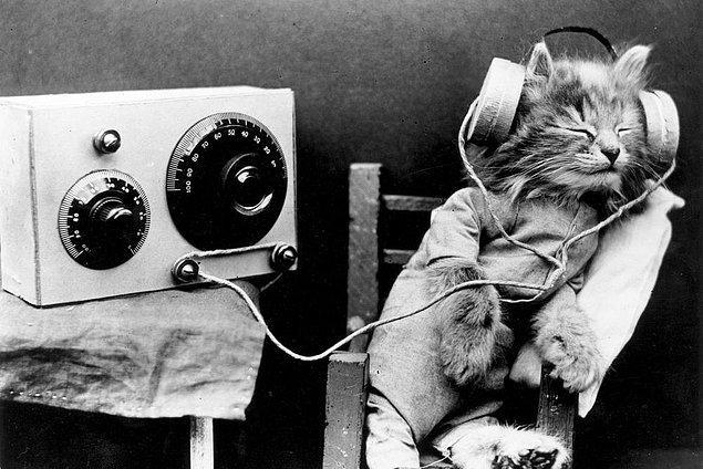 2. Mutlu olduğunuz bir ana dönmenizi sağlayacak, eski bir şarkıyı dinlemek..