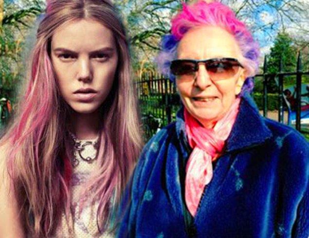 4. Renkli Saç Modasını Denemeyen Kalmadı.