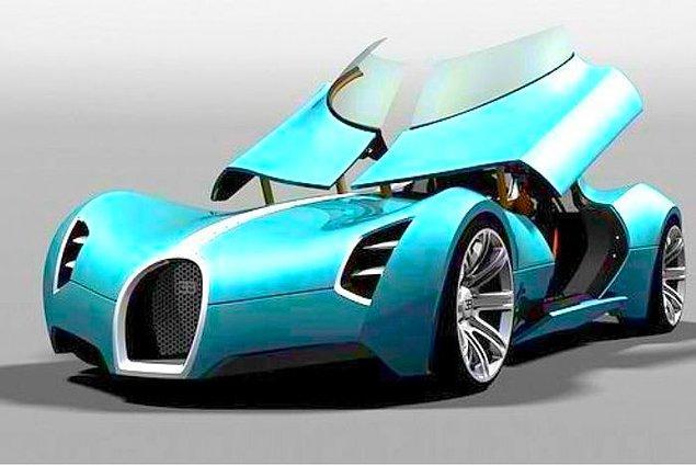 27. Bugatti AEROLITHE