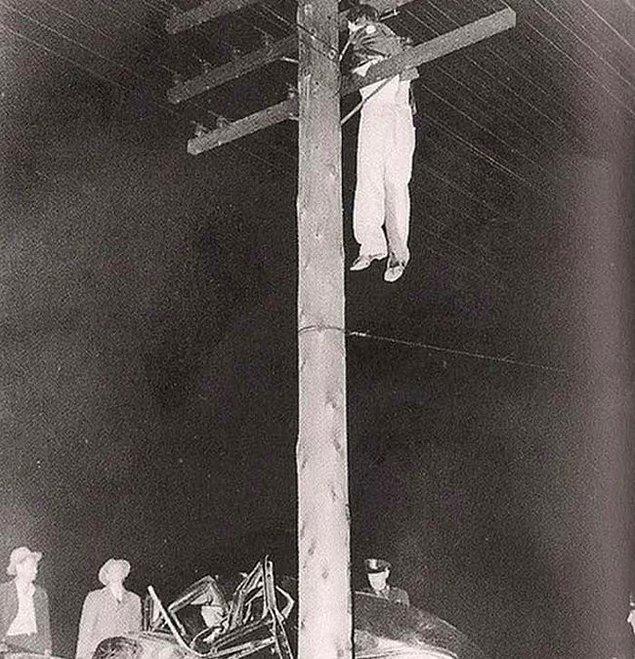 8. 1945 yılında korkunç bir araba kazasından sonra olan olay.