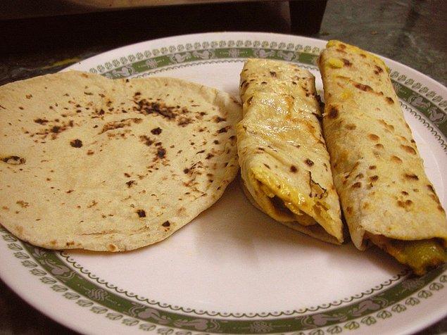 2. Katmer sevenlere tavsiyem; Chapati...