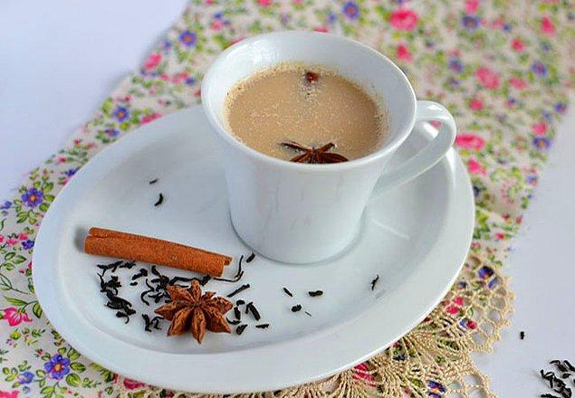 1. Güne güzel bir başlangıç için; Masala çayı...