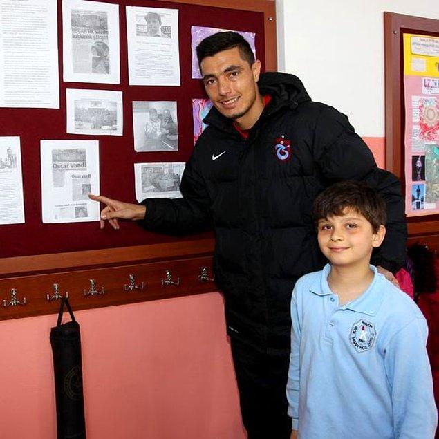 Vaadinin ardından seçimi kazanması belki sürpriz değildi ancak asıl sürpriz olan Ömer Taha'nın sözünü tutup Cardozo'yu okula getirmesi oldu.