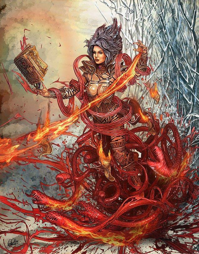 Wizard - Blood and Fire Hydra - Sihirbaz - Kan ve Ateş Suyılanı