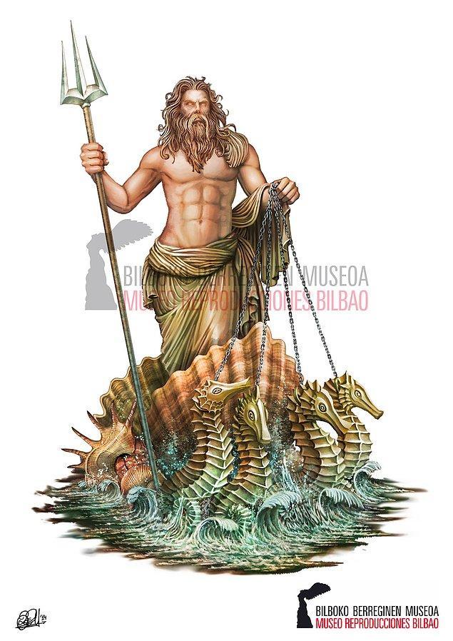 Poseidon God of the Sea  - Denizler Tanrısı Poseidon