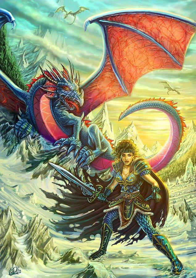 Kitiara the Dragon Highlord, and the Blue Dragon Army - Kitiara'nın Ejderhası Highlord ve Mavi Ejderha Ordusu