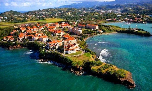 3. St George's Üniversitesi - Grenada