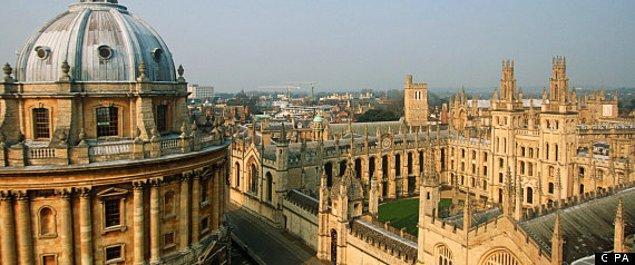 6. Oxford Üniversitesi - İngiltere