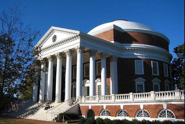 9. Virginia Üniversitesi - Amerika