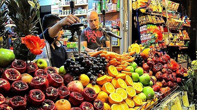 7. Meyve Tüketimini Sınırsız Hale Getirmek