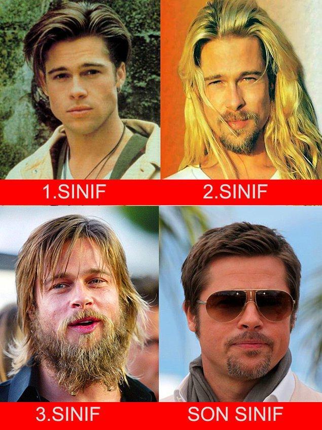 1. Brad Pitt - Yıldız Teknik Üniversitesi - Mekatronik Mühendisliği