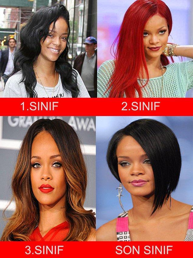 2. Rihanna - Bilkent Üniversitesi - İşletme Bölümü