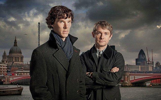 7. Sherlock   (2010– )   IMDB / 9,3
