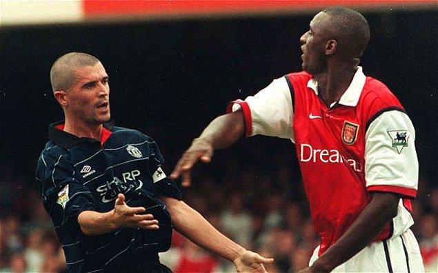 17. Roy Keane'den Patrick Viera'ya