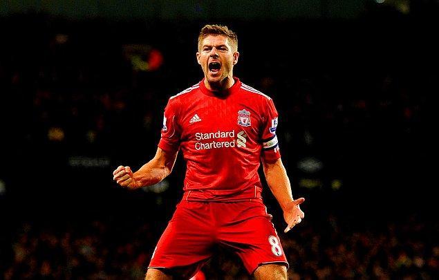 19. Steven Gerrard