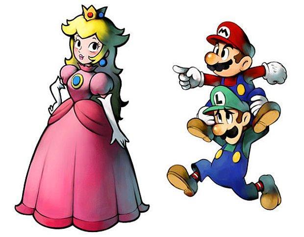 Süper Mario'nun Prensesi