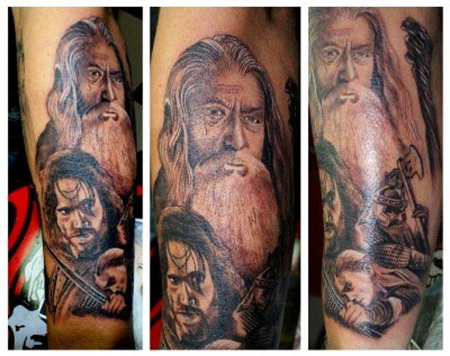 18. Gandalf ve saz arkadaşları
