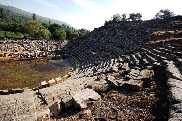 4- Stratonikeia Antik Kenti, Muğla