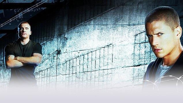 34. Prison Break   (2005–2009)   IMDB / 8,5