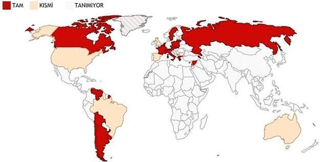 7. Hangi ülkeler 'Ermeni Soykırımı'nı tanıyor?