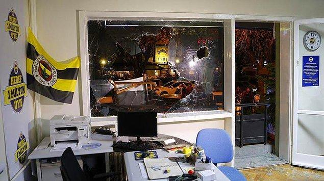 Fenerbahçe Ankara şubesine saldırı