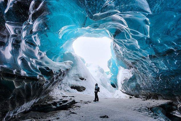 1. Vatnajokull Buzulu İzlanda
