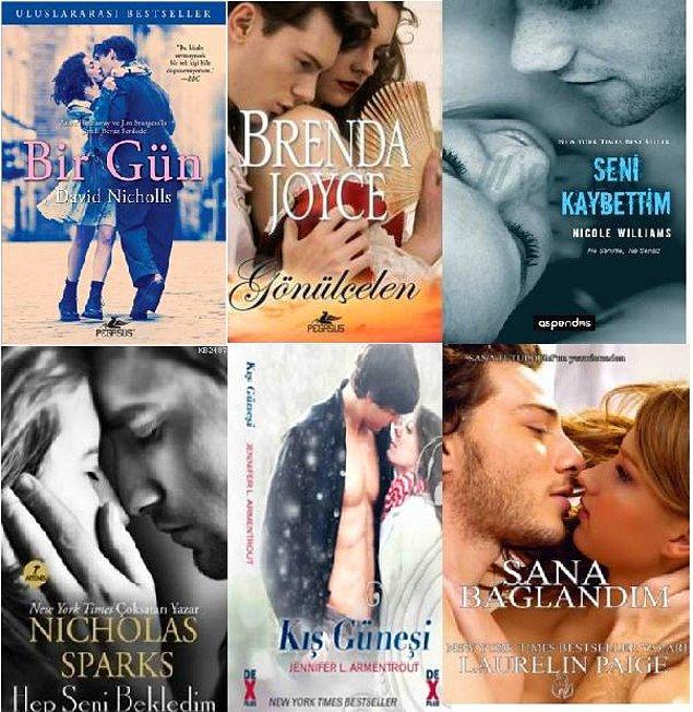4. Aşk romanlarının olmazsa olmazı çiftler.
