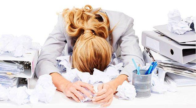 """""""İşim çok stresli ve zahmetli"""""""