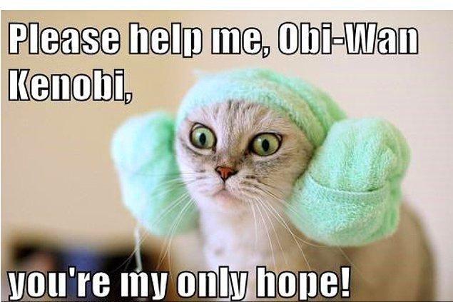 """3. """"Umut"""" dendiğinde herkesten önce akıllara gelen isimdir Obi-Wan Kenobi"""