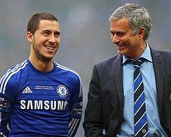 """Mourinho: """"Hazard'ın Tek Bacağı 100 Milyon Sterlin Eder"""""""