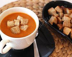 Kerevizli Domates Çorbası