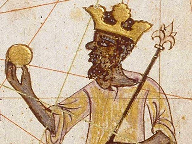3. Dünyanın en zengin insanı Mali Kralı Mansa Musa