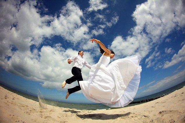 9. Paylaşılan düğün fotoğrafları faktörü