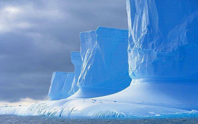 7. Görece olarak dünya'nın en temiz bölgesi Antarktika'dır.