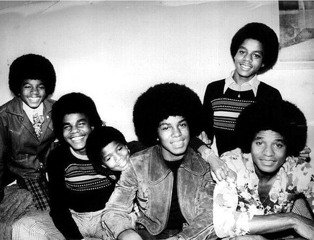 9. Jackson Beşlisi Olarak Bilinen 1972 Yılına Ait Jackson Kardeşler