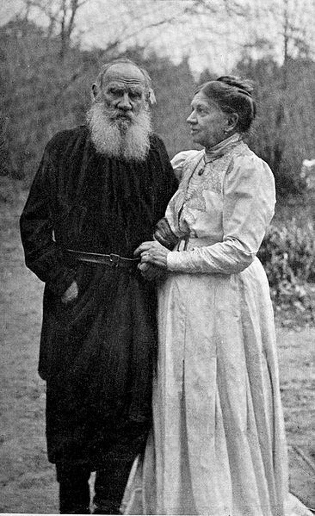 20. Lev Tolstoy ve Sophia Tolstaya