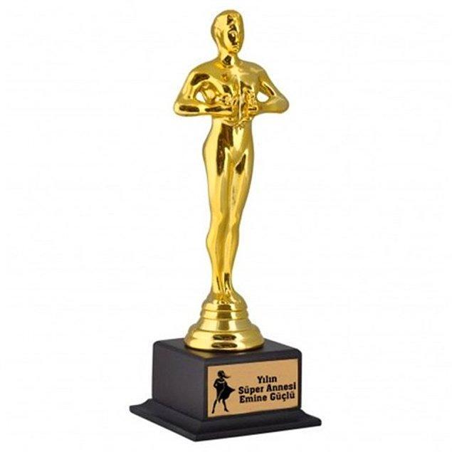 Kişiye Özel Süper Anne Oscarı