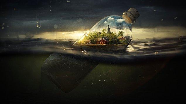 12. Yaşadıkları okyanus içerisinde duygular, bilinçdışı olaylar, sezgiler ve hayal dünyası ön plana çıkar.