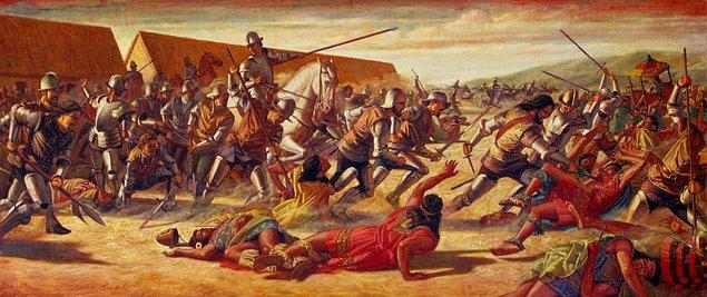 11. Her ne kadar bugün çok sayıda Maya insanı hayatta olsa da, Mayaların yönettiği son devlet 1697 yılında İspanyol kontrolüne girmişti.