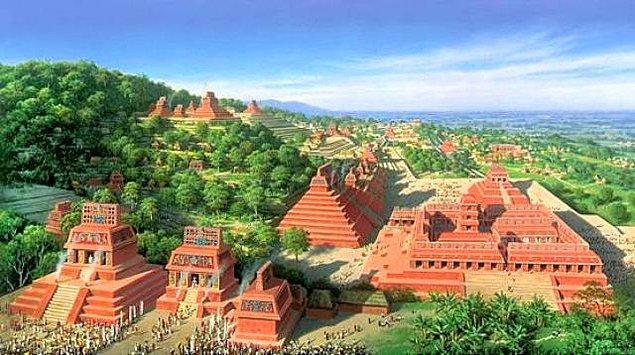 Bonus - Mayaların nasıl yıkıldığı hakkında kimse bilgi sahibi değildir.